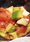 トマトとアボカドのモッツァレラサラダ