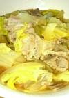 レンジで簡単❗白菜と厚揚げの甘煮★雑炊