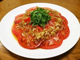我が家の人気☆トマトサラダ