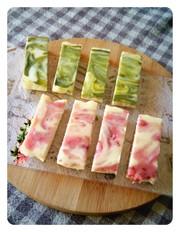 もちとろ新食感☆白玉粉で作るチーズケーキの写真