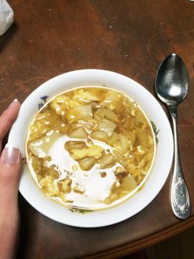胃に優しいじゃがいもスープ