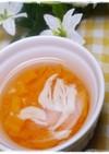 離乳食中期 鶏のささみとにんじんのスープ