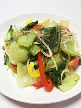 ダイエットに!青梗菜とパプリカの炒め物