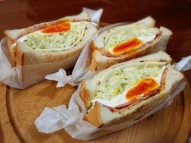 野菜たっぷりヘルシー沼サン♡サンドイッチ