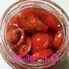 ☆塩トマト☆
