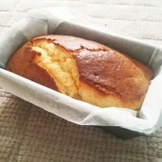 HMで☆クリームチーズパウンドケーキ