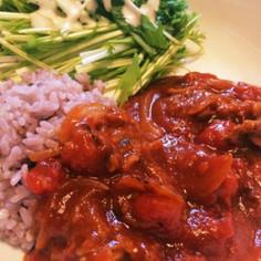 15分でルーから作る豚コマハヤシライス
