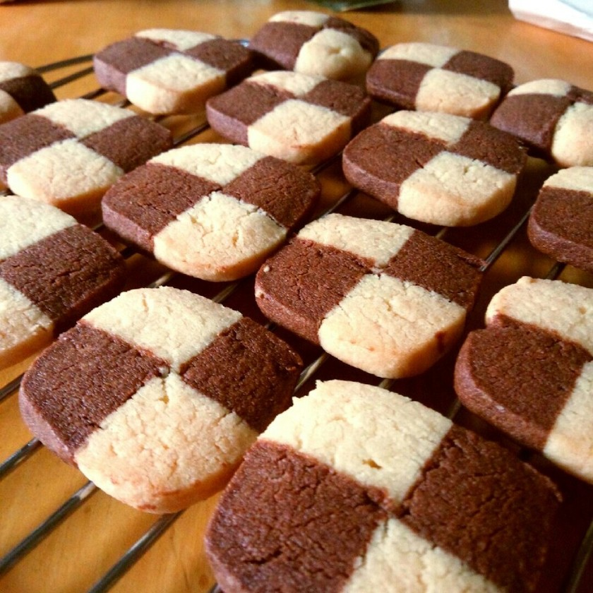 簡単!バター不使用アイスボックスクッキー