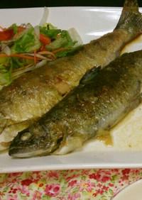 白身魚(鯛・鮭・あまご)のムニエル