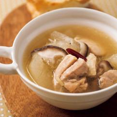 ショウガとトウガンのスープ