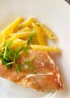 赤魚とペンネのスピード煮