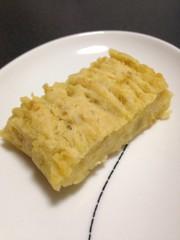 卵乳製品不使用☆焼き芋と豆腐のケーキの写真