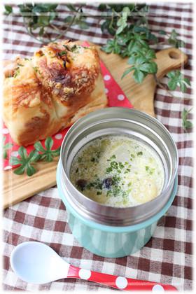 ワンポットパスタでスープジャー★ミルク味