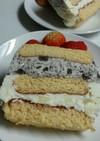 手作りアイスサンドケーキ