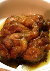 鶏肉のコーラ煮(洋風)