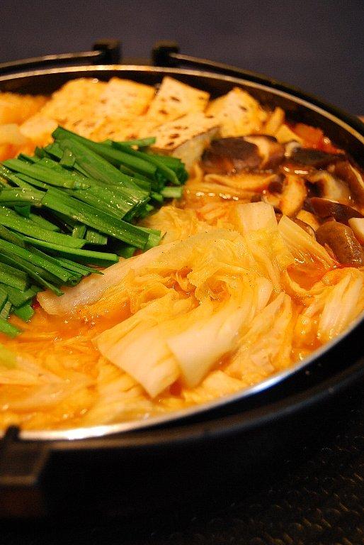 キムチ鍋。
