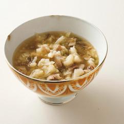 カリフラワーとザーサイのスープ