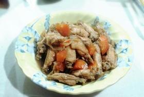 簡単☆手羽の煮物(リメイク付)
