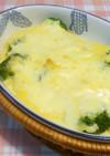 ブロッコリーのエッグクリームグラタン♪