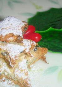 ノンオイルおからクッキークリスマスver