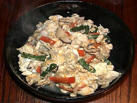 麺つゆだけで♪炒り豆腐
