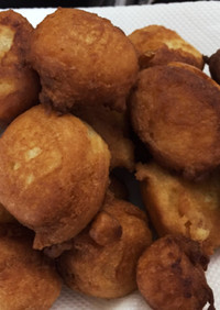 コストコパンケーキミックス豆腐ドーナツ