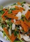 栄養満点♡豆苗の簡単ごまポン酢サラダ
