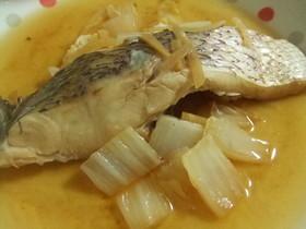 真鯛と白菜の生姜煮
