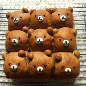 くまちゃん*ちぎりパン
