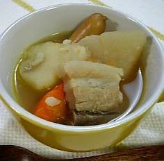 寒い夜に☆根菜たっぷりのポトフ