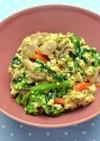 菜の花の炒り豆腐