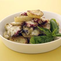ポテトとたこのジェノバ風サラダ