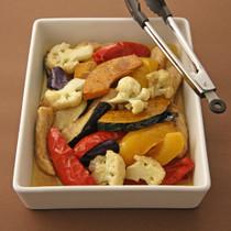 いろいろ揚げ野菜のマリネ