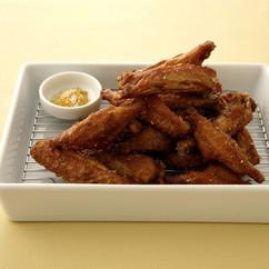 鶏手羽のカレー風味揚げ
