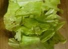 キャベツのシンプルインド風サラダ