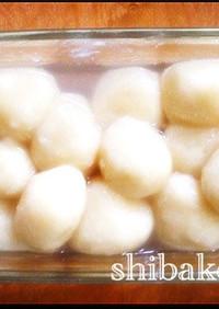 簡単お月見デザートフワフワ豆腐白玉白玉粉