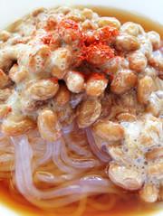 簡単!ダイエットに♪納豆麺の写真