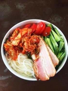 糖質制限★0g麺で冷麺(糖質6g)