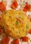 漬け物と豆入り春のポテトサラダ