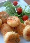 ホタテのパン粉チーズ焼き