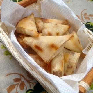 トースターで!揚げない◎納豆の三角春巻き