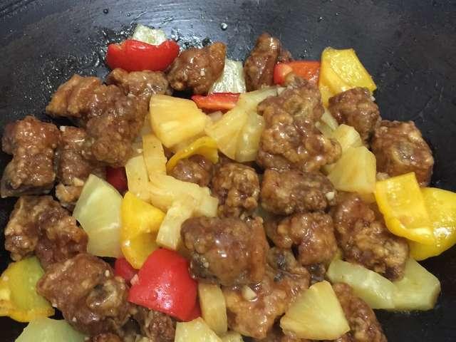酢豚 パイナップル