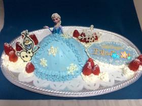 キャラケーキ♪アナと雪の女王 エルサ
