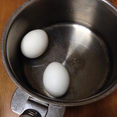 温泉卵の作り方