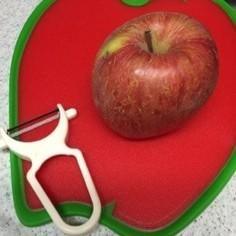 りんごのむき方✳︎ピーラーでキレイに