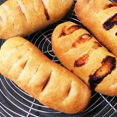 とろけるチーズ入り♡ソーセージパン