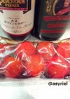 口直し。トマトのさっぱり酢漬け