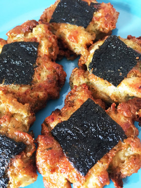鶏胸肉と豆腐でのりっこチキン