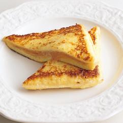 サンドイッチパンでフレンチトースト