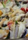 野菜のオーブン焼きガーリックチーズ風味